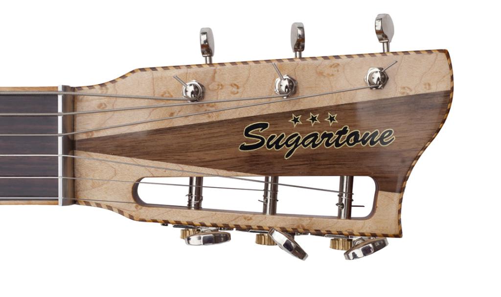 Serenade headstock detail
